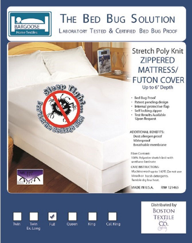 Stretch Knit Bed Bug Proof Box Spring Cover