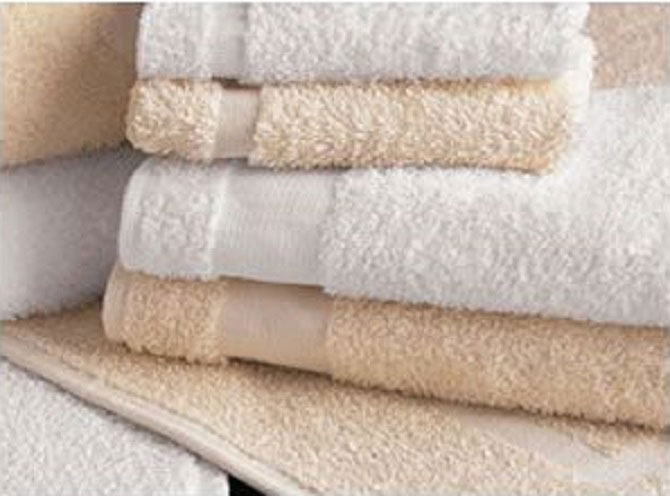 Hotel Hand Towels Cam Border Hand Towels By Westpoint