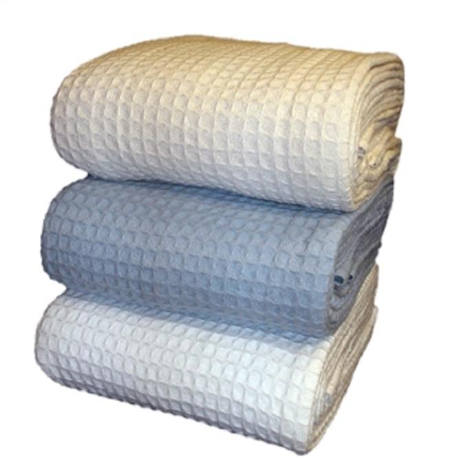 Charles Owens Blankets Santa Barbara Cotton Thermal Blanket