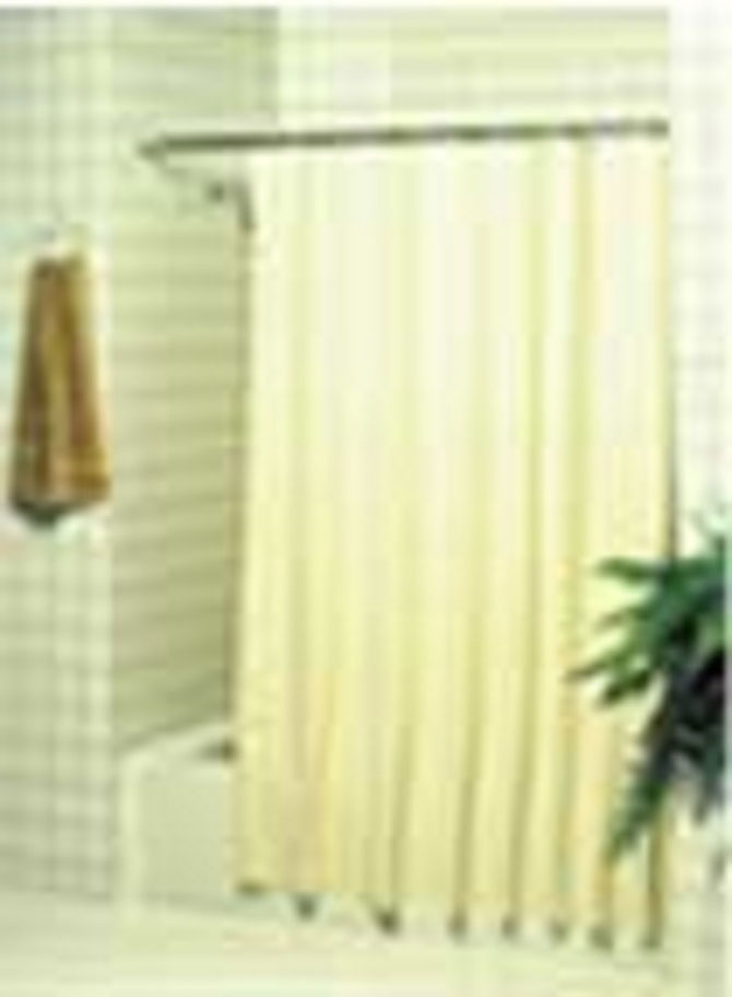 Super-Suede 10 Gauge Vinyl Shower Curtain by Hospitel