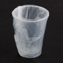 Individually Wrapped Plastic Cups